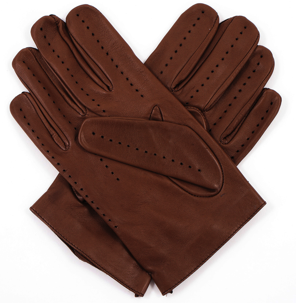 Driving gloves car - Men S Leather Driving Gloves Tobacco Chocolate
